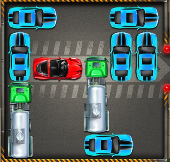 بازي پارکینگ ماشین ها