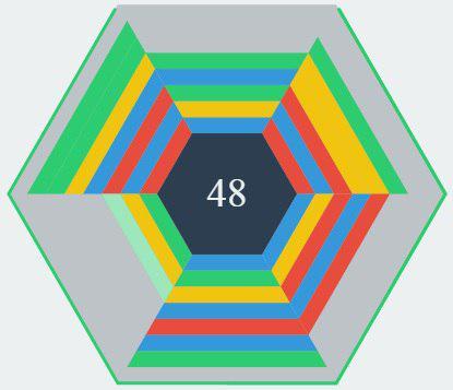 بازی پازل 6 ضلعی