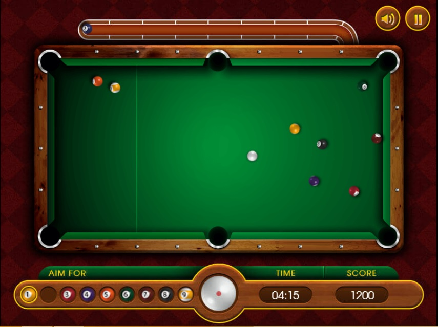 بازی بیلیارد 9ball